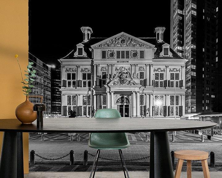 Sfeerimpressie behang: Het Schielandshuis in Rotterdam van MS Fotografie   Marc van der Stelt