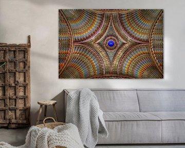 Kleurrijk Plafond van Roman Robroek