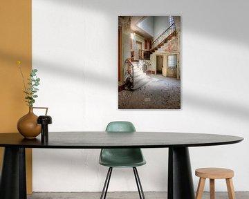 Des escaliers aux couleurs douces. sur Roman Robroek