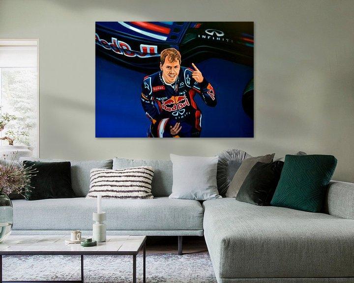 Impression: Sebastian Vettel painting sur Paul Meijering