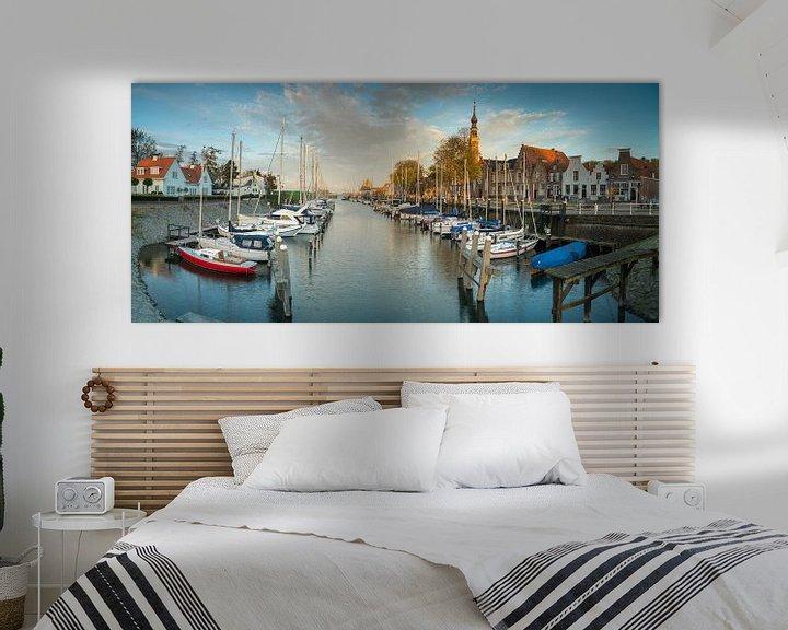 Sfeerimpressie: Panorama Veere van Jan Koppelaar