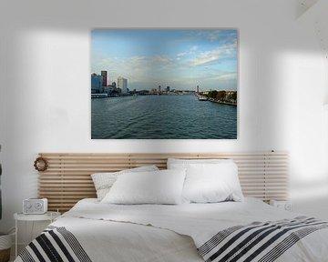 skyline Rotterdam van Frank Kleijn