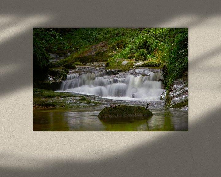 Sfeerimpressie: Grobbach-Wasserfälle bei Baden-Baden van Ursula Di Chito