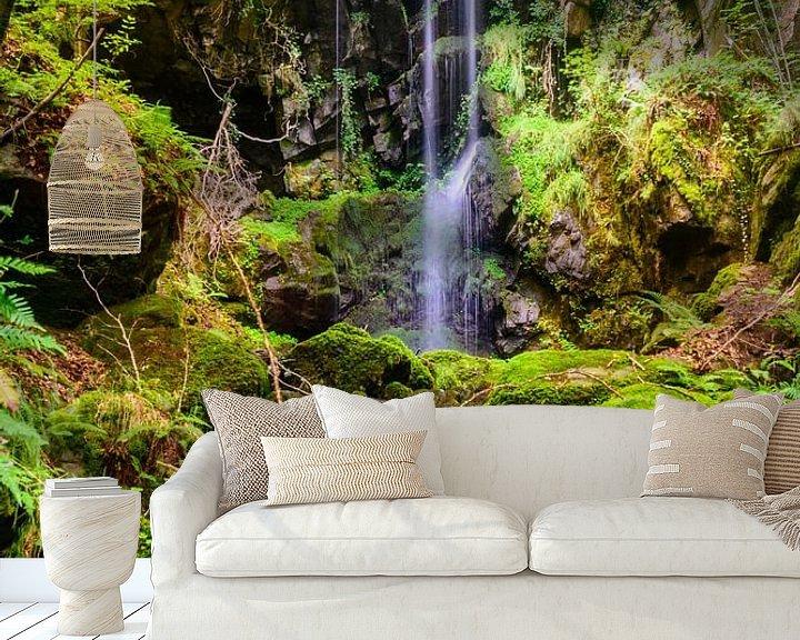 Impression: Cascade des Razes, Cantal, Auvergne, Frankrijk sur 7Horses Photography