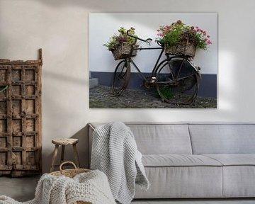 Bloemenfiets van Odette Kleeblatt