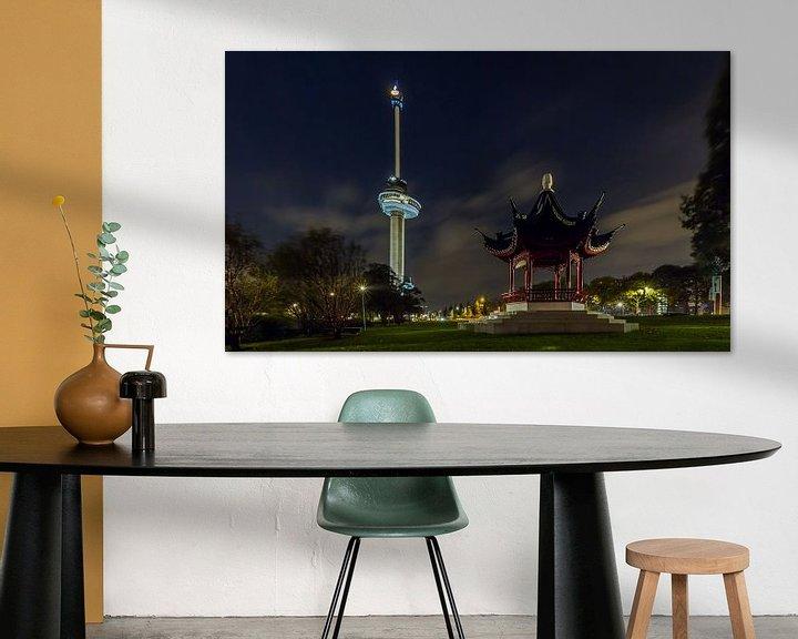 Sfeerimpressie: De Euromast in Rotterdam van MS Fotografie | Marc van der Stelt