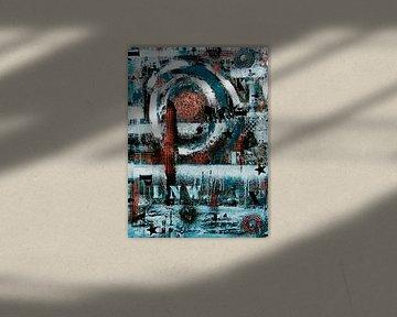 Love not War von Femke van der Tak (fem-paintings)