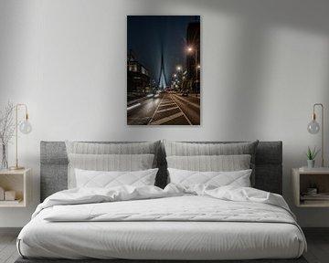 Rotterdam by night. von Tilly Meijer