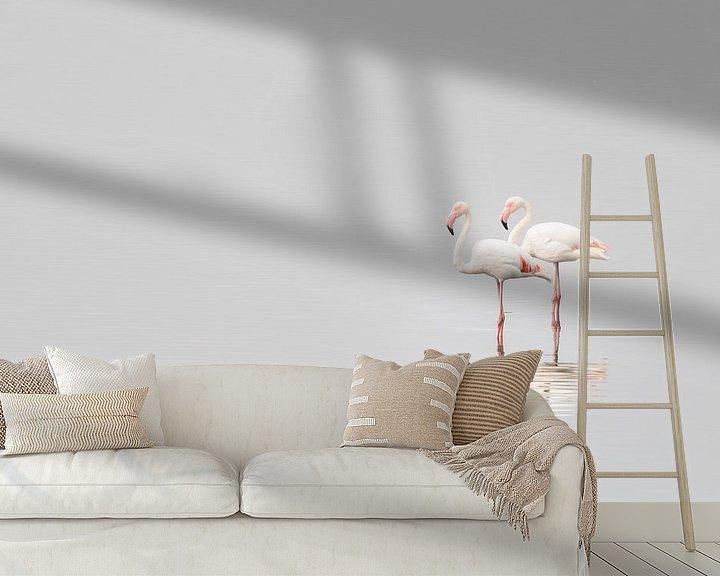 Sfeerimpressie behang: Together van Ed van Loon