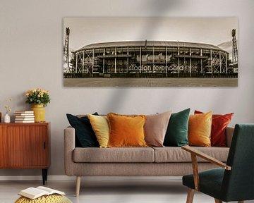 "Feyenoord Stadion ""De Kuip"" in Rotterdam van MS Fotografie | Marc van der Stelt"