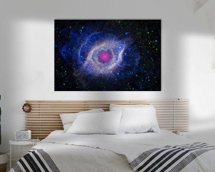 Sfeerimpressie: Stervende ster van Space and Earth