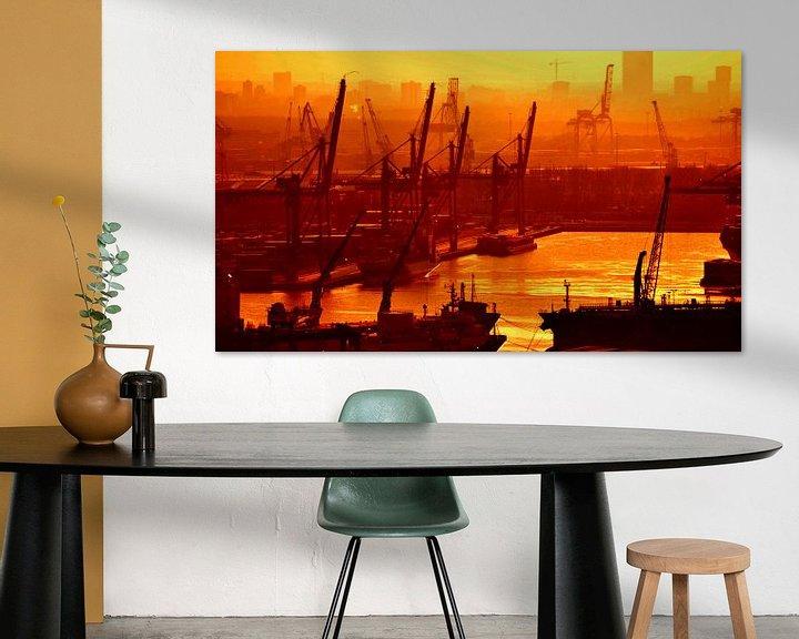 Sfeerimpressie: Wereldhaven Rotterdam van Rogier Vermeulen