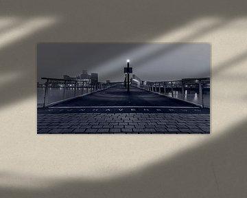 Die Rijnhaven-Brücke in Rotterdam von MS Fotografie | Marc van der Stelt