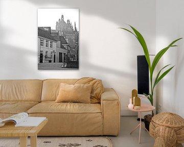 In den Boerenmouw Den Bosch - schwarz/weiß von Jasper van de Gein Photography