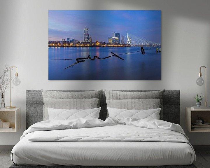Sfeerimpressie: De skyline van Rotterdam van MS Fotografie   Marc van der Stelt