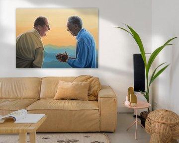 Jack Nicholson and Morgan Freeman von Paul Meijering