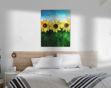 Sunflower van Roswitha Lorz