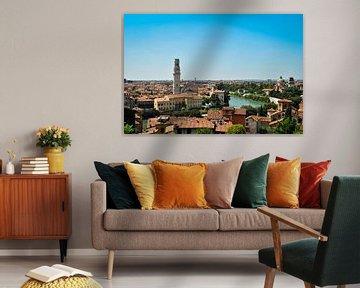View over Verona von Gert Tijink
