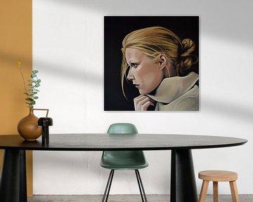 Gwyneth Paltrow schilderij von Paul Meijering