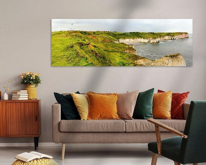 Sfeerimpressie: Selwicks Bay op Flamborough Head van Gisela Scheffbuch