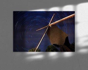 Sterrensporen aan de Lindemolen van Bert Beckers