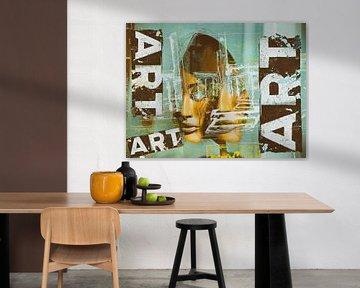 Two faces and ART von Gabi Hampe