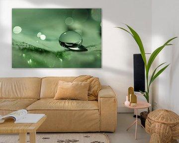 Green Droplet von Carla Mesken-Dijkhoff