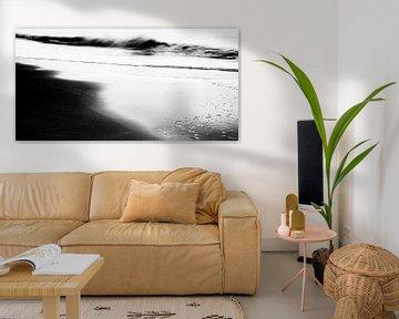 Het Noordzeestrand bij Noordwijk V van Chantal Heusschen