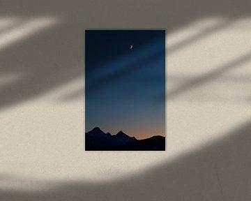 Tribute to the moon von Olha Rohulya
