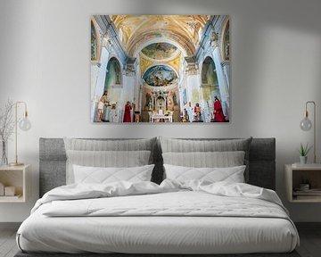 Kerk interieur von Harrie Muis