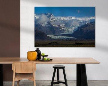 Svínafellsjökull Glacier van Freek van den Driesschen