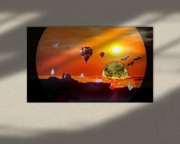 Apokalypse am Meer van Vera Laake