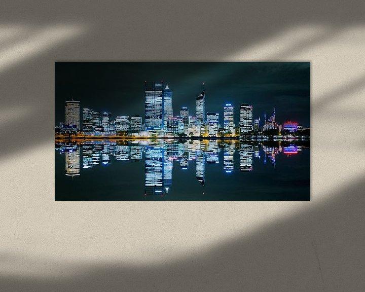 Sfeerimpressie: Perth Skyline van Guy Florack