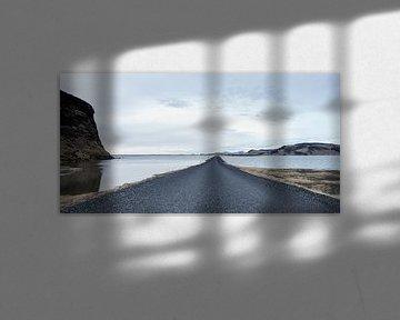 Die blaue Straße ... von Hans Brinkel