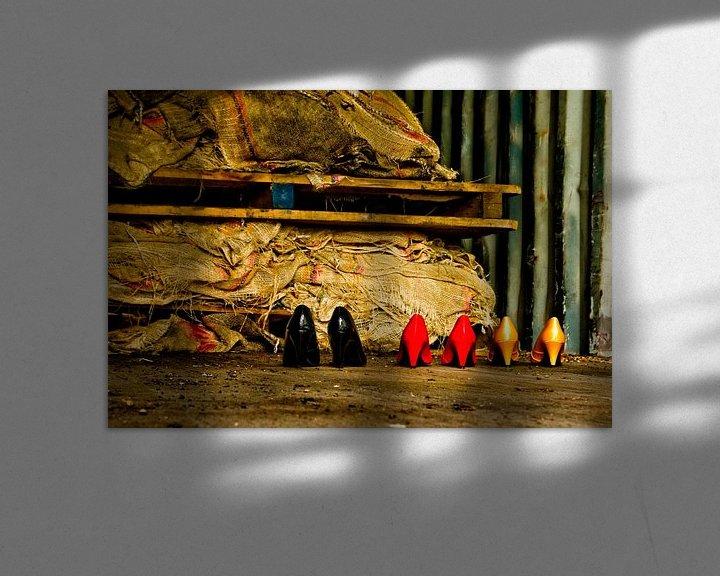 Sfeerimpressie: Germany colors (black, red and gold) van Norbert Sülzner