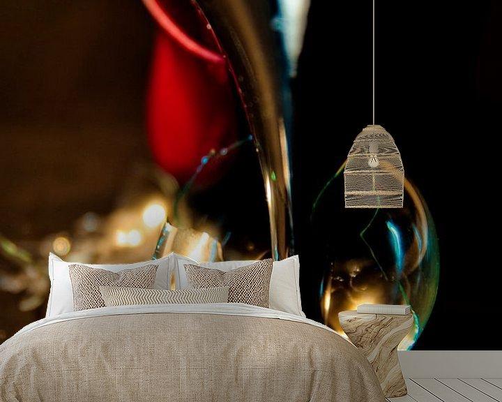 Sfeerimpressie behang: the light will be off definitively van Norbert Sülzner