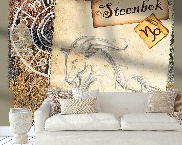 Beispiel fototapete: Steenbok von Studio Zes