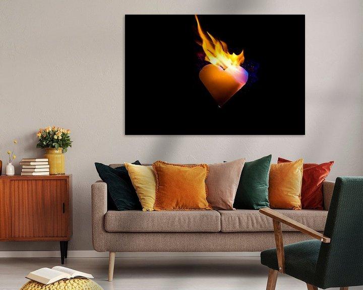 Sfeerimpressie: burning heart (6) van Norbert Sülzner