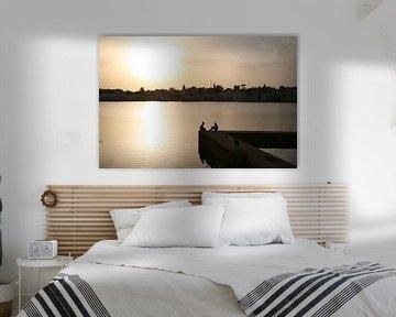 Indian Sunset van Ron Dijkstra