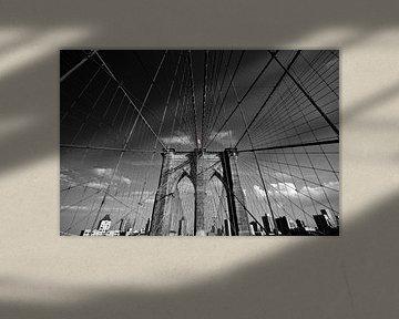 Brooklyn Bridge NYC von Melanie Viola