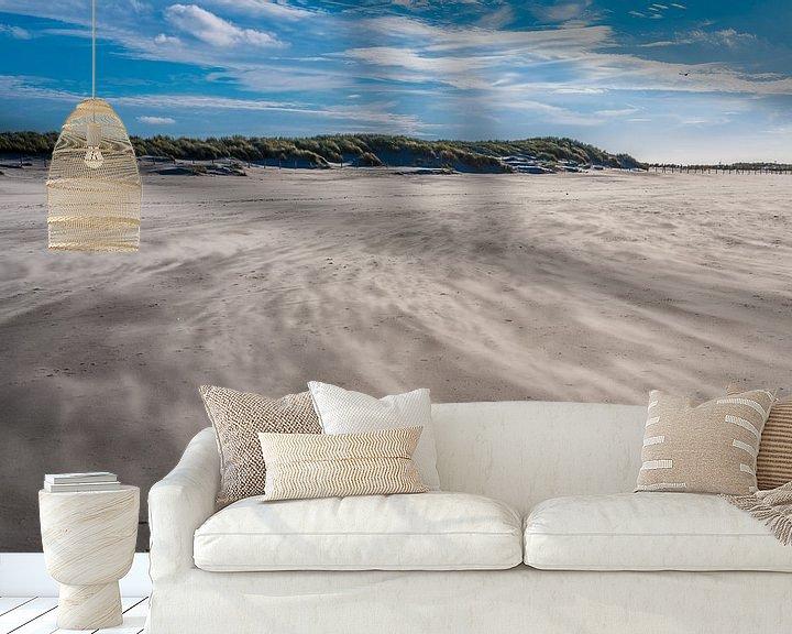 Sfeerimpressie behang: Windy path at the beach van Marco Schep