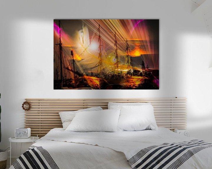 Sfeerimpressie: Sonnenaufgang van Walter Zettl