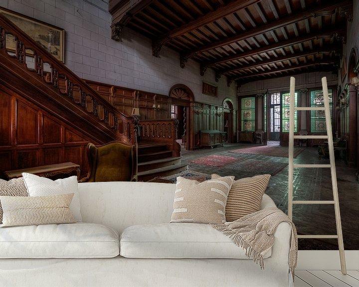 Sfeerimpressie behang: The Towns Mansion van Oscar Beins