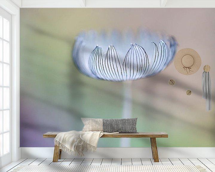 Sfeerimpressie behang: Hazepootje van Judith Borremans