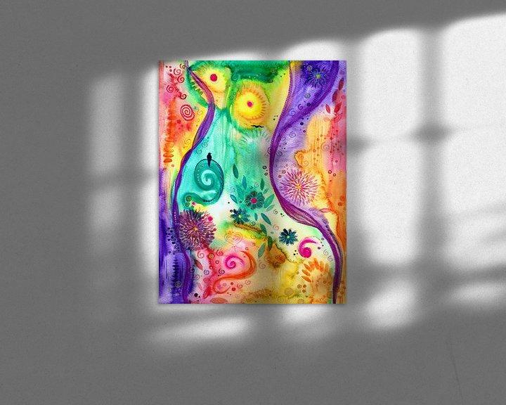 Beispiel: Freiheit von Sandra Riedel ( SaRidie-arts)