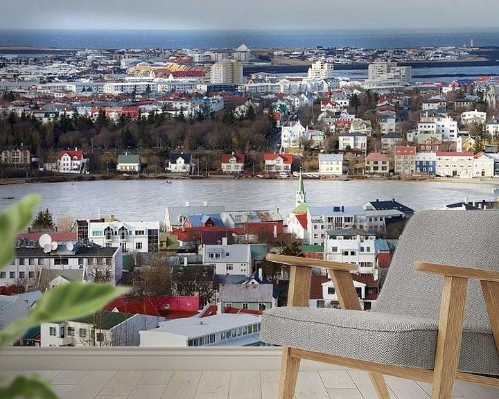 Impression: Reykjavik in IJsland sur Hannie Bom