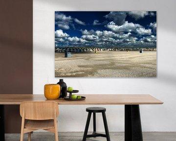 Strandhuisjes ijmuiden van Ipo Reinhold