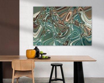 Kunstdruck, Farben, Formen von ines meyer