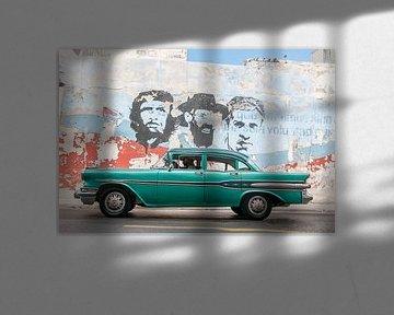 Heroes in Decay - Canvas versie van Theo Molenaar