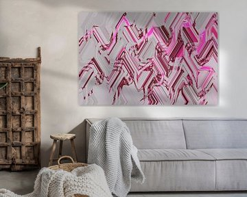 Farben und Formen Kunstdruck von ines meyer